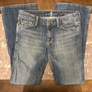 7 For All Mankind The Lexie Petite A Pocket Jeans